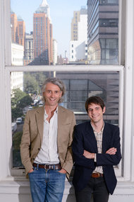 Researchers Emanuele Castano and David Comer Kidd. Photo by Casey Kelbaugh, NY Times.