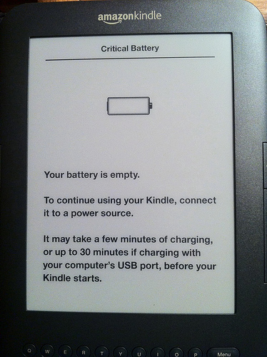 Kindle-Battery-Empty